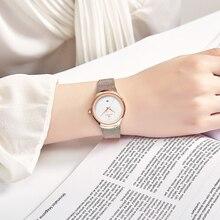 NAVIFORCE Watch Women Fashion Dress Quartz Watches Lady Stainless Steel Waterproof Wristwatch Simple Girl Clock Relogio Feminino