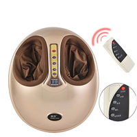 Electric Shiatsu Foot Massager Far Infrared Heating Kneading Air Compression Reflexology Massage Device Pedicure Machine Smart