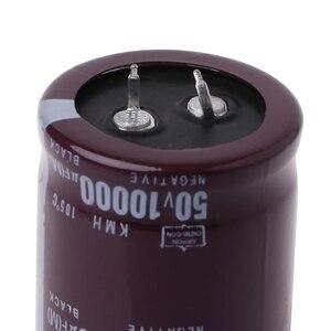 Image 5 - 10000 미크로포맷 50V 105 섭씨 전원 전해 커패시터 스냅인 스냅인 S927