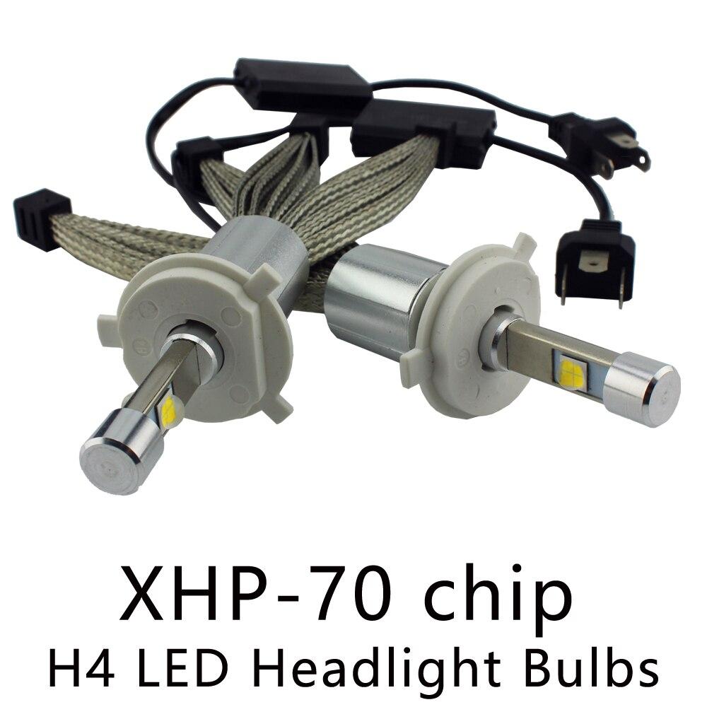 OCSION P70 <font><b>H4</b></font> <font><b>LED</b></font> Lamp Headlight 55w <font><b>6600lm</b></font> 5000k 6000k <font><b>H4</b></font>-3 Automotive Headlights Hi/Lo Beam Motorcycle Headlamp H7 H11 HB3