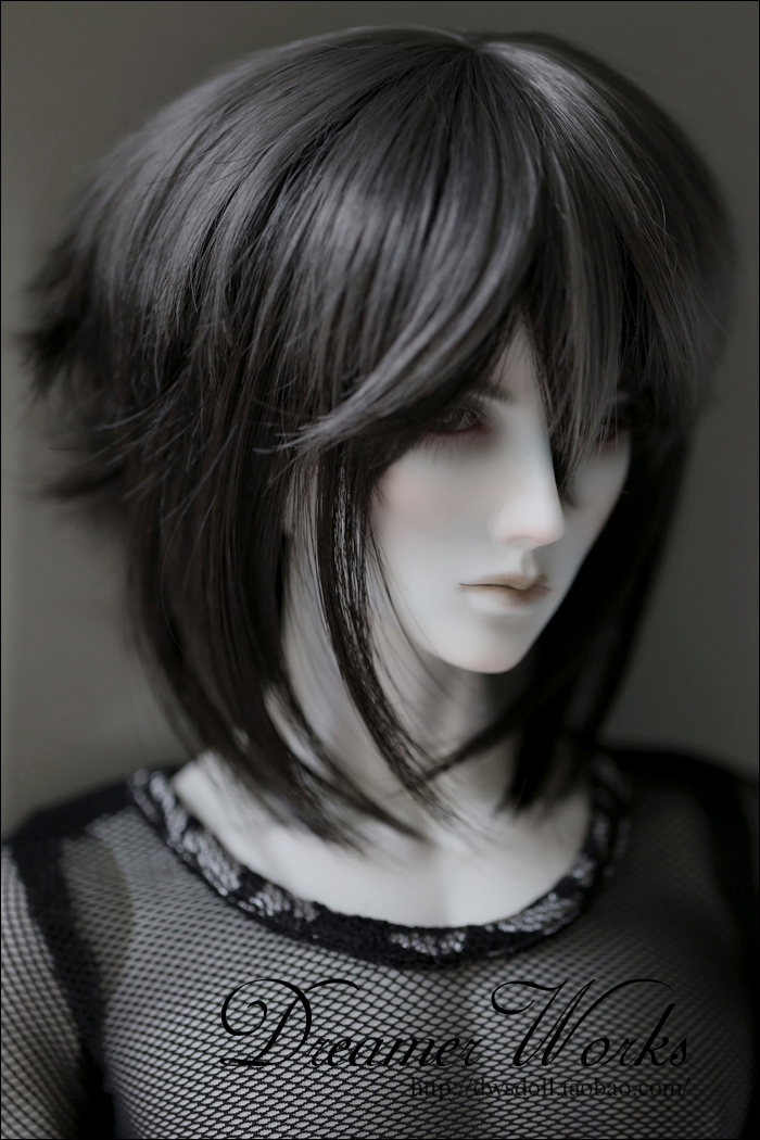 1/4 1/3 scale BJD  doll wig short hair for DIY BJD/SD accessory.Not included doll,clothes,shoes,and other accessories 17C3256