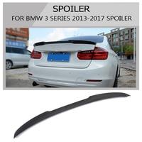 3 Series F30 Carbon Fiber Gloss Black Rear Trunk Spoiler Wings Trunk Lip for BMW F30 F80 M3 2012-2017 320i 325i 328i 335i