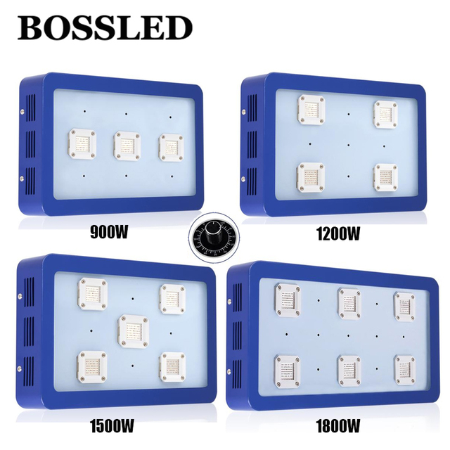 Bossled Bestva Grow lights (All Models) with COB Led Chips 900W-1800W