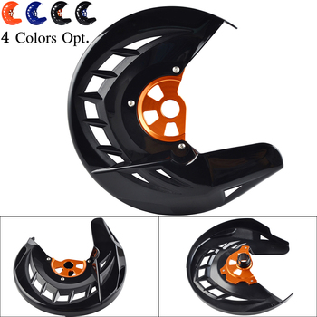 Front Brake Disc Guard For KTM 125 150 200 250 300 350 400 450 530 SX SXF XC XCF EXC EXCF XCW XCFW 2003-2015 For Husqvarna TE FE front fork guard bolt screw for ktm sx sxf exc excf xc xcf xcw xcfw 65 125 150 250 350 450 525 530 2000 2017 2018 2019 freeride