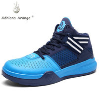 Adriana 2019 Spring Basketball Shoes Men High top Off White Shoes Sport Air Cushion Athletic Comfortable Lightweight Athletic
