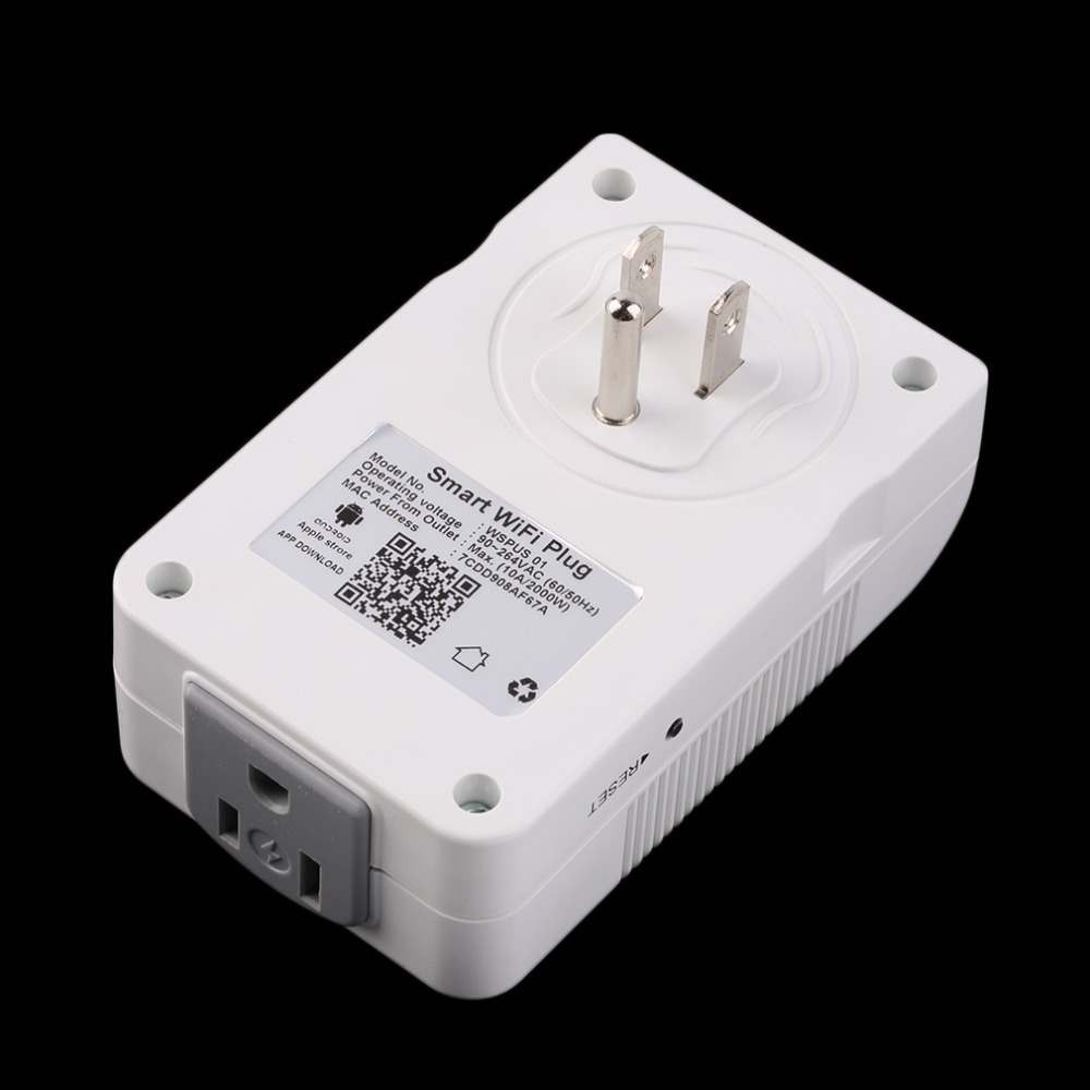 Hot sale! In stock! US Plug Power Switch Socket Outlet Wireless Remote Control Smart Wifi Plug Socket Newest Free Shipping hot in stock s29gl512n10tfi02