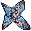 2015 Spring and Autumn scarf Popular Stars' style and Fantasy geometric printing scarves microfiber cotton fabric