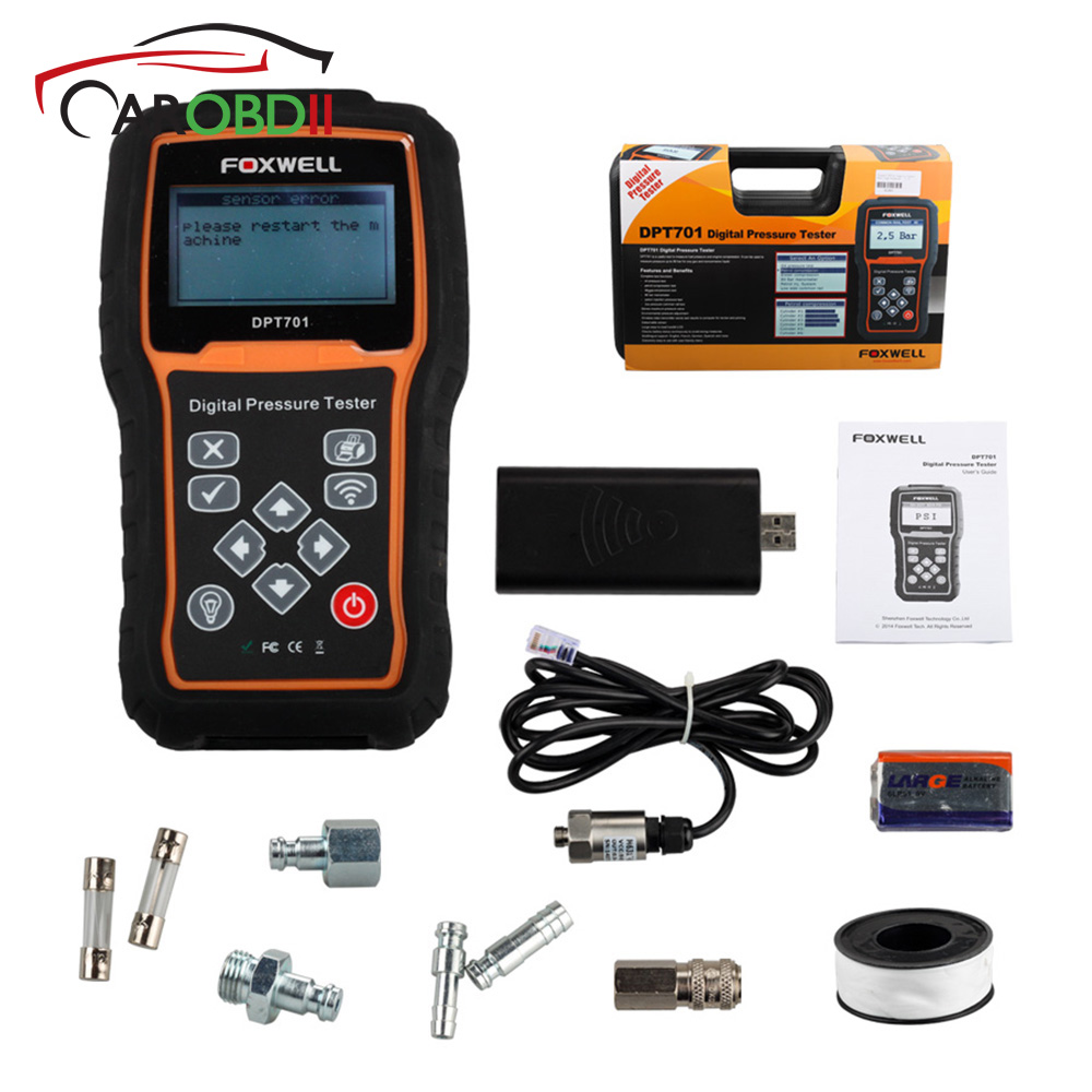 Back To Search Resultsautomobiles & Motorcycles Forceful Foxwell Dpt701 Petrol Diesel Oil Fuel Pressure Tester Automotriz Professional Diagnostic Scanner Automotive Engine Compression Sale Price Diagnostic Tools
