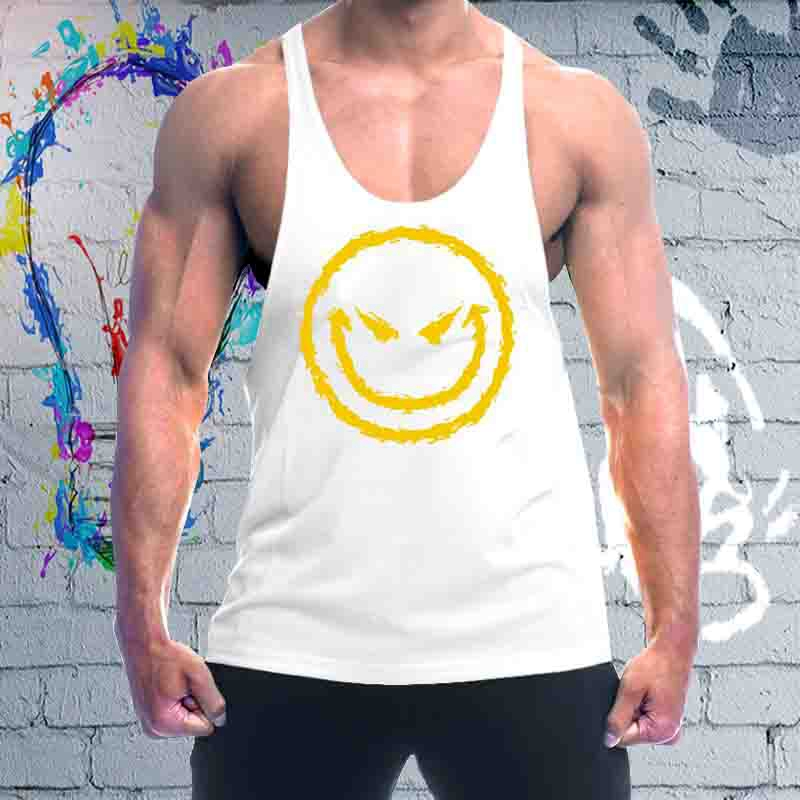 2018 Men Boy Body Base Layer Sleeveless Summer Vest Thermal Under Top Tees Tank Tops Work Out Loose High Flexibility