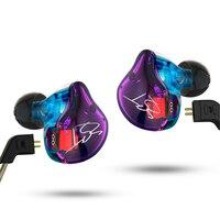 KZ ZST Pro Armature Dual Driver In Ear Headphone Detachable Cable In Ear Earphone DJ Monitors
