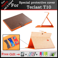 High Quality Business Mangetic Closure Flip Stand PU Leather Case Cover For Teclast T10 T10 Ultimate