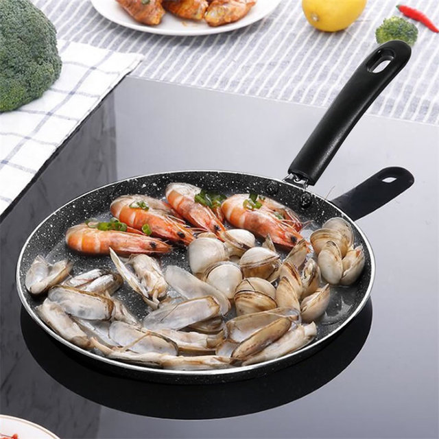 Aluminum Frying Pan with Handle