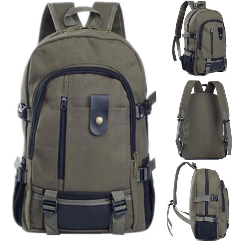 Fashion Canvas Men Backpack Women Large Schoolbag Military Preppy Style Rucksack Satchel Durable Travel Bag Wholesale noJE12 ноутбук asus k501uq