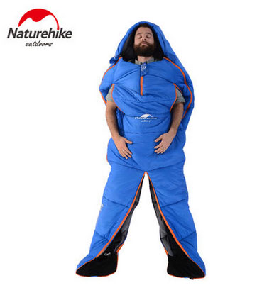 Naturehike Humanoid Sleeping Bag Outdoor Waterproof Camping Adult Ultralight Warm Cotton Material Sleeping Gear NH16R200-X naturehike goose down sleeping bag adult waterproof travel outdoor camping hiking warm winter envelope ultralight sleeping ba