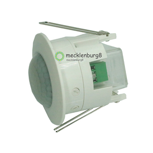 Image 1 - 110V 220V Ceiling PIR infrared motion sensor body Detector lamp fixture switch lampholder for LED lamps automatic ON / OFF