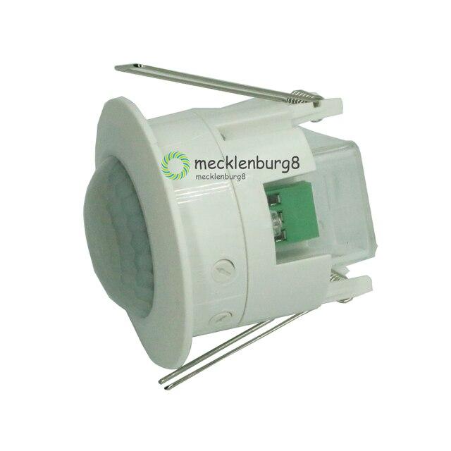 110V 220V Ceiling PIR infrared motion sensor body Detector lamp fixture switch lampholder for LED lamps automatic ON / OFF