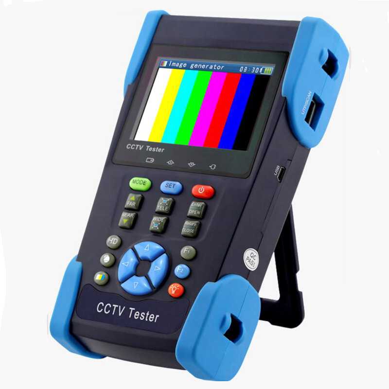 CCTV Tester TVI 1080P 3.5inch LCD HD Coaxial Tester
