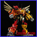 MODEL FANS IN-STOCK Jinbao TF G1  Predaking oversize KO mmc Version Combined deformation robot
