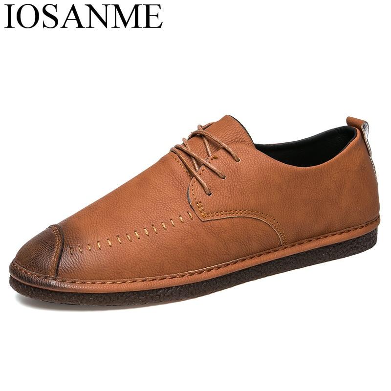 fashion shoes men italian luxury brand male casual footwear cool ballet flats comfort mo ...