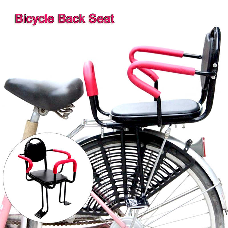 Children Bicycle Back Safety Seat For Kids Child Bike Saddle Rack Rest Cushion