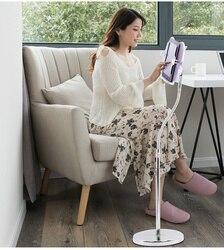 Kreatywny obrót o 360 stopni stojak na książkę do czytania książki bezpłatny regulowany stojak podłogowy stojak na książki