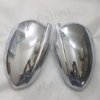 New Chrome Side Rearview Mirror Cover For 09-12 Chevy Holden Cruze 4-Door Sedan
