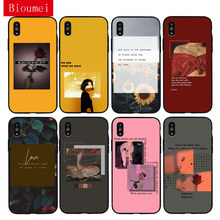 Bioumei garden vacation vintage red aesthetic Soft TPU Case for iPhone 11 Pro Max XR XS Max 7 8 Plus 5 6 6S Plus Cover for X 03(China)
