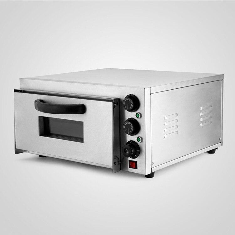 Duplo Rotary Maçanetas Modern Design Forno de Pizza Deck Single 2kW Cozimento Elétrica Comercial - 2
