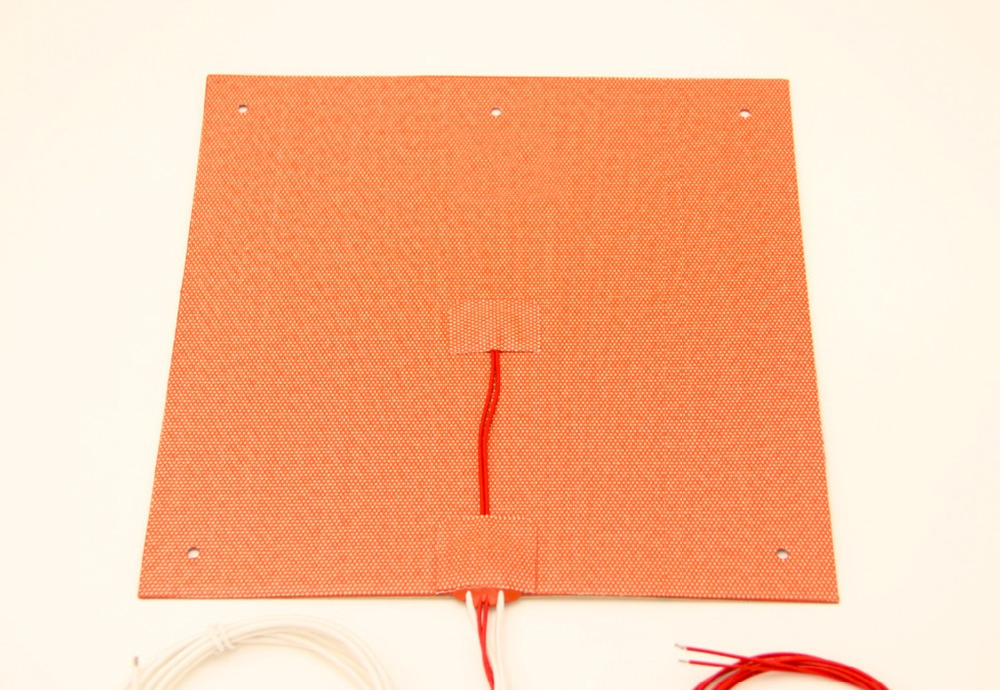 Silicone Heater 245X245mm 350W 220V for Ultimaker Clone CL260 3D Printer Heated Bed,Build Plate Heating Element silicone heater 245x245mm 350w 220v for ultimaker clone cl260 3d printer heated bed build plate heating element