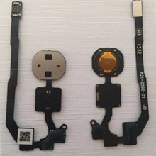 цены For iPhone 5S Home Button Flex Cable Sensor Ribbon Complete Parts Replacement For Iphone 5s Home Button Without Button