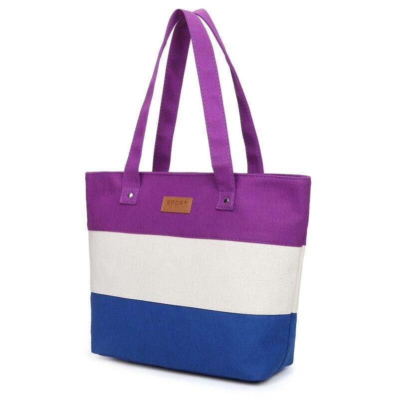 Dames Main toile grande plage épaule femmes Messenger fourre-tout sacs Femme sacs à Main célèbre Marque Sac une Main Femme De Marque Pochette