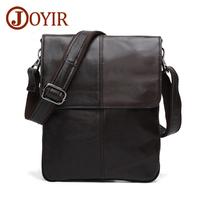JOYIR Messenger   Bag   Men Leather Genuine Shoulder   Crossbody     Bags   For Men leather Casual Designer Handbags Male Vintage Flag   Bags