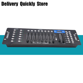 promotion sale 192 DMX Console Stage lighting Controller 192 channels DMX-512 Moving head led par controller DMX Show Dieliquer 5xlot light jockey dmx usb martin controller 1024channels software lighting console martin jockey usb1024 dmx controller