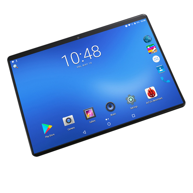 Tablettes Android 8.0 tablette 10 pouces pour Google Play 2.5D écran en verre trempé Octa Core SIM 3G LTE WIFI GPS RAM 4GB 128GB tablette