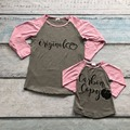 reindeer baby girls boutique cute T-shirt  fall/winter mother and child family look kids top clothes original and copy ruffles