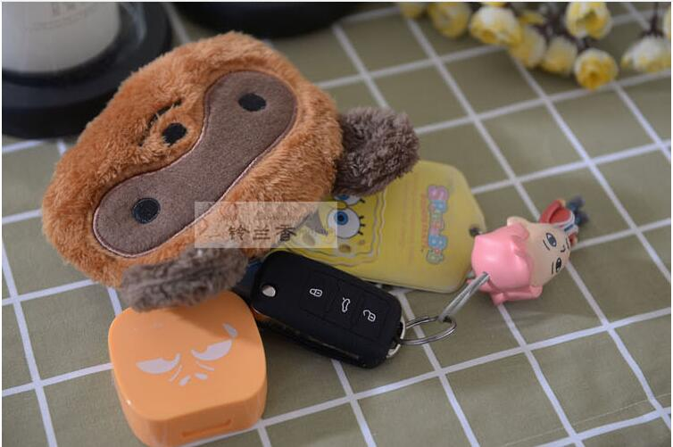 5 pieces Kawaii Many animal cat panda duck rabbit Women Plush Coin Purse Mini Change Purse Wallet Kids Girl Portable Small Po