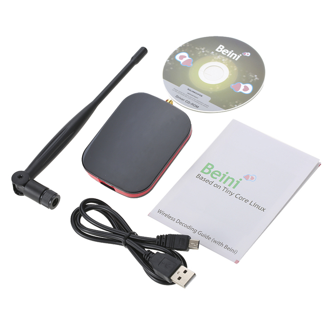 Computer WiFi Adapter 150Mbps Mini USB WiFi Receiver Wireless Network Card with 5dBi Antenna Support 802.11 b/g/n for PC Desktop