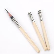 5 шт. карандаш удлинитель регулируемый деревянный держатель-удлинитель инструмент для рисования офисные школьные канцелярские принадлежности