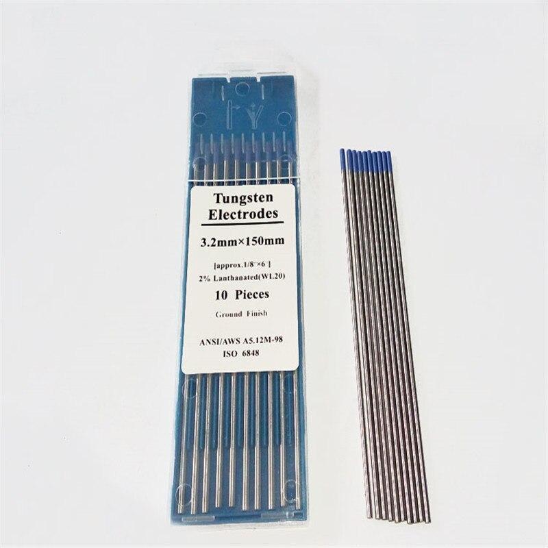 WL20 лантана вольфрама синий вольфрамовым электродом для сварки ВИГ аргонодуговой сварочный аппарат