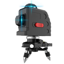 цена на 8-Line 3D Laser Level Self-Balancing 360 Degree Horizontal Vertical Cross-Strength Horizontal Laser Level Level Building Tool