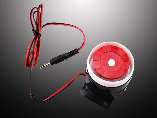 imágenes para Venta Con Conexión de Cable antirrobo Sistema de Seguridad de Alarma Sirena de Hornos 10 unids/lote