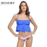 JRNNORV Sexy Bandeau Bikinis Women Swimsuit Brazilian Bikini Set Beach Bathing Suit Push Up Swimwear Hot