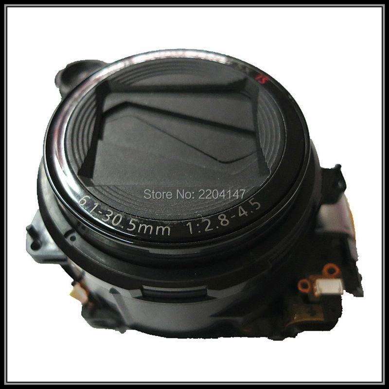 Prix pour 100% original noir lentille G10 zoom pour Canon G12 OBJECTIF G11 objectif n ° ccd utilisation caméra pièces de rechange