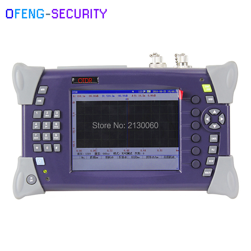SM Optical Time Domain Reflectometer Fiber Optic OTDR Tester OTDR-2000 15/16dB