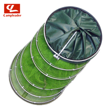 Stainless Metal Double-circle Fish Safety Uuniversal Positioning Rubberized Anti-hanging Fisherman Web Fast Drying CL217