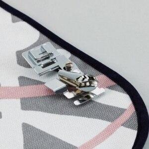 1 шт. Свернутый Край швейная машина для ног Полезная ткань край прижимной лапки для певицы Janome швейные бытовые машины аксессуары