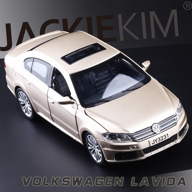 High Simulation Exquisite Diecasts&Toy Vehicles Double Horses Car Styling Volkswagen Lavida 1:32 Alloy Diecast Car Model Toy Car
