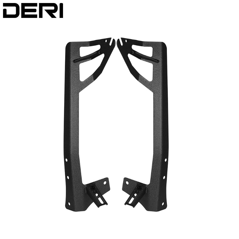 51 inch 52 inch LED Light Bar Windshield Steel Mount Bracket Mounting Brackets for Jeep Wrangler