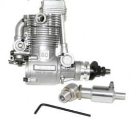 ASP 4 Stroke FS80AR Nitro Engine for RC Airplane