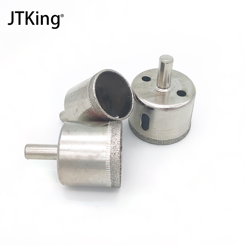 3 Diamond Drill Bit Coated Core Set 30-40mm Glass Marble Ceramic Diamond Tool 30/35/40mm